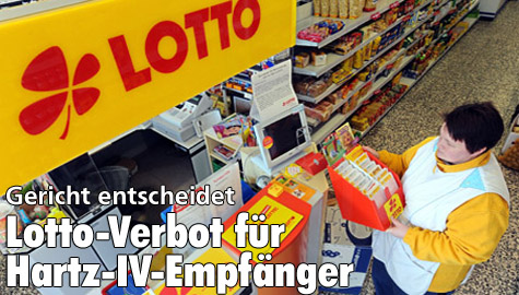 Hartz 4 Lotto Verbot